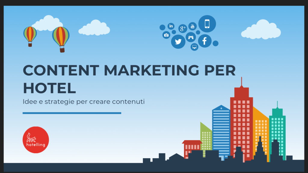 Corso di Content Marketing per Hotel a Venezia Mestre